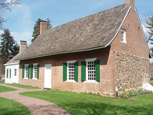 Historic DeWint House George Washington Headquarter's in Tappan, New York