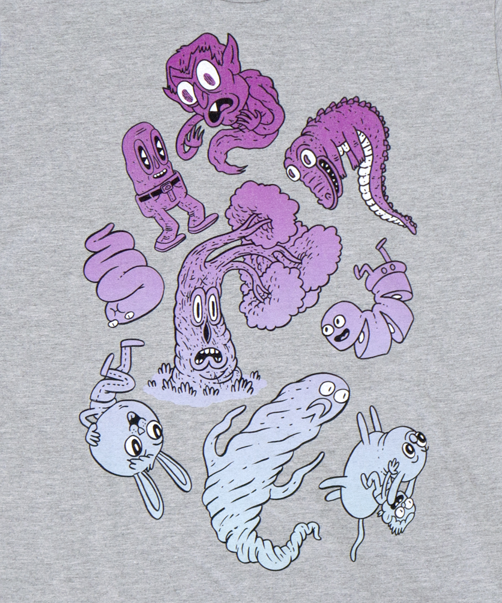 Tiangula and Foes- new tshirt!  http://imperfectarticles.com/triangula-and-foes