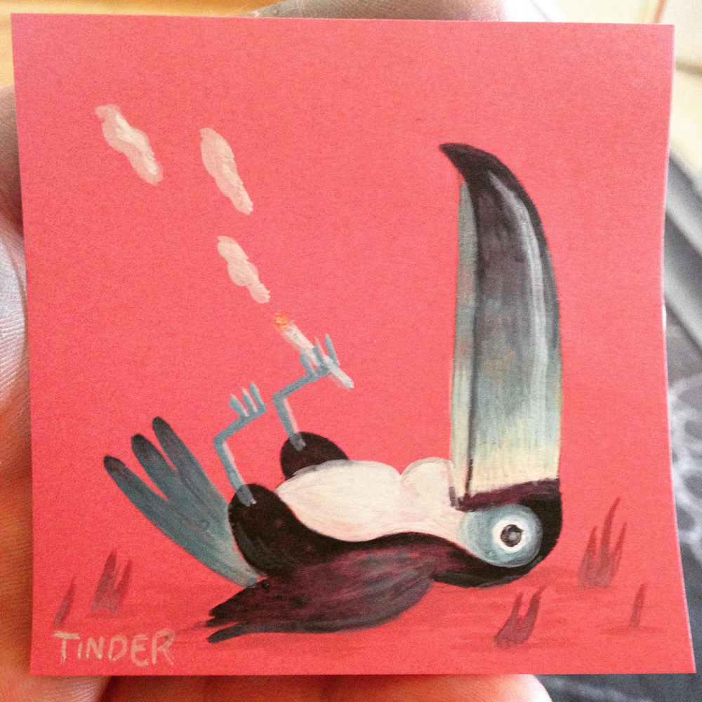Toucans for Post-It Show.