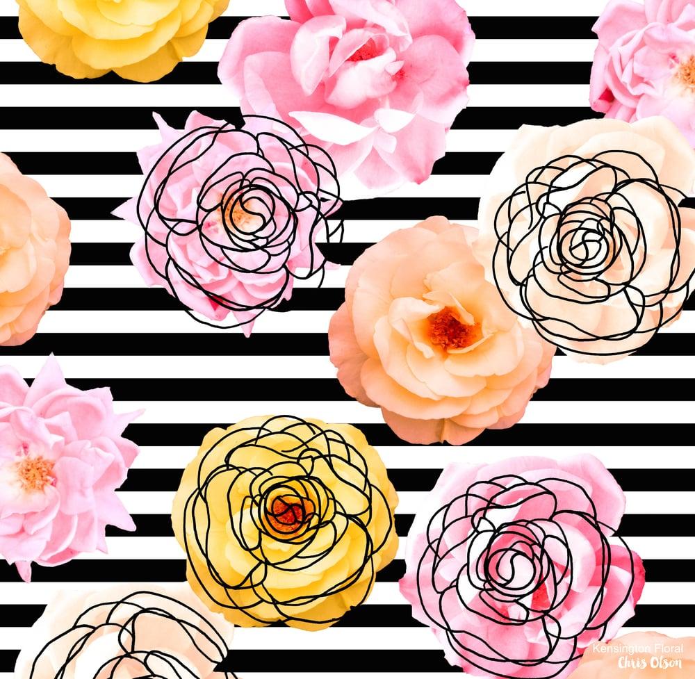 Kensington Floral art