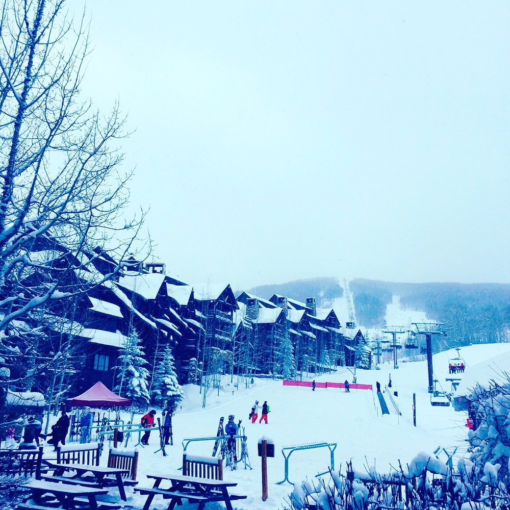 Time to grab some early morning powder at Beaver Creek Resort.