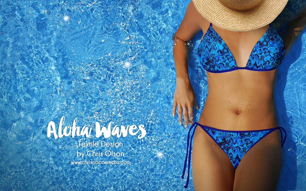Aloha Waves pattern by Chris Olson