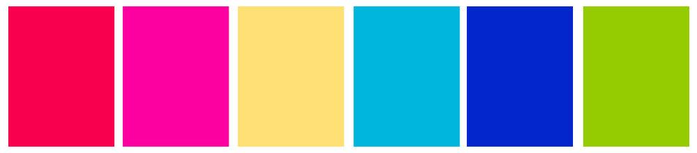 Cali color palette