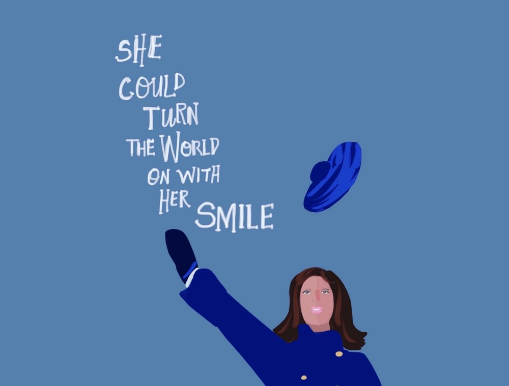 Remembering one of my heroes, Mary Tyler Moore. (Art by Chris Olson)