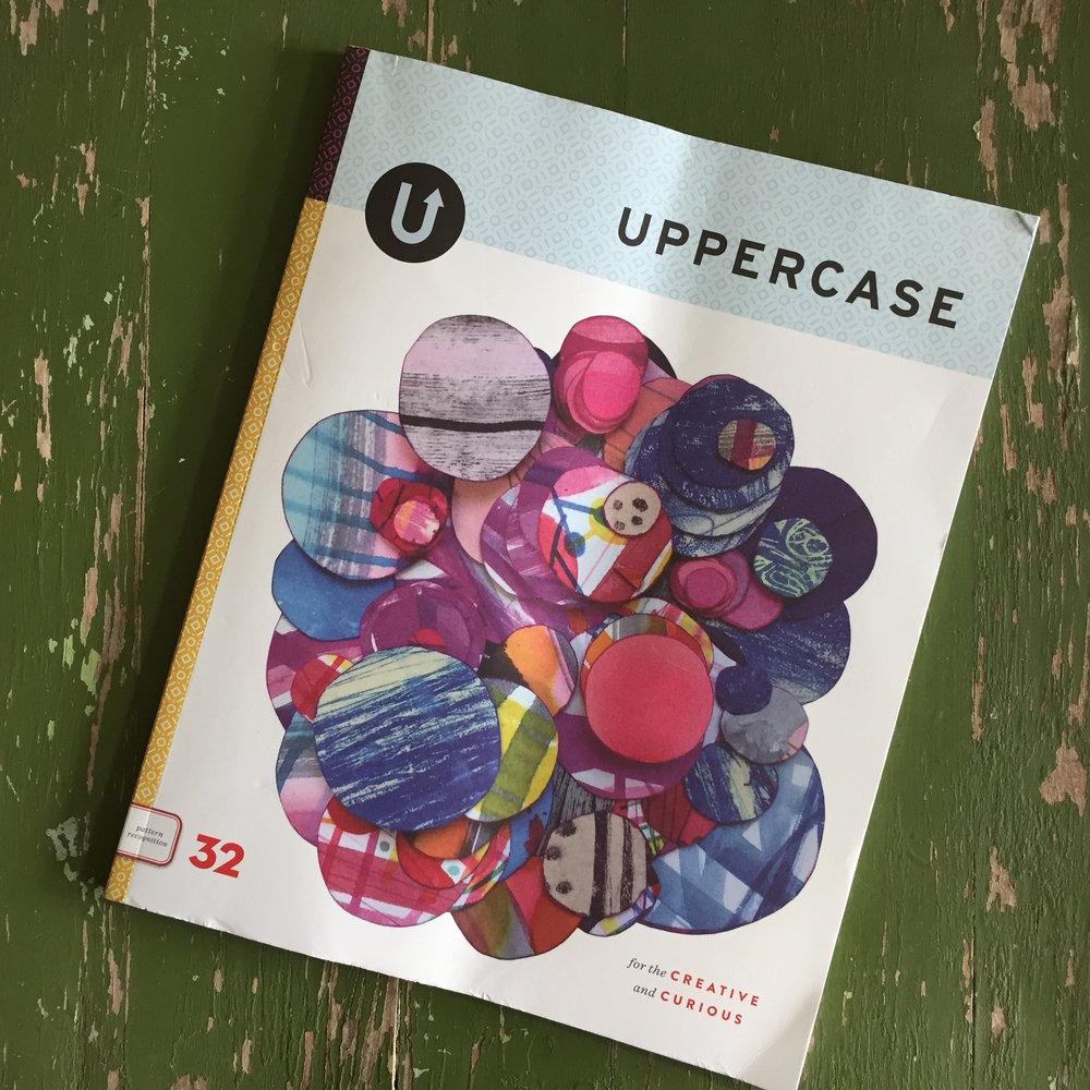 UPPERCASE Magazine cover