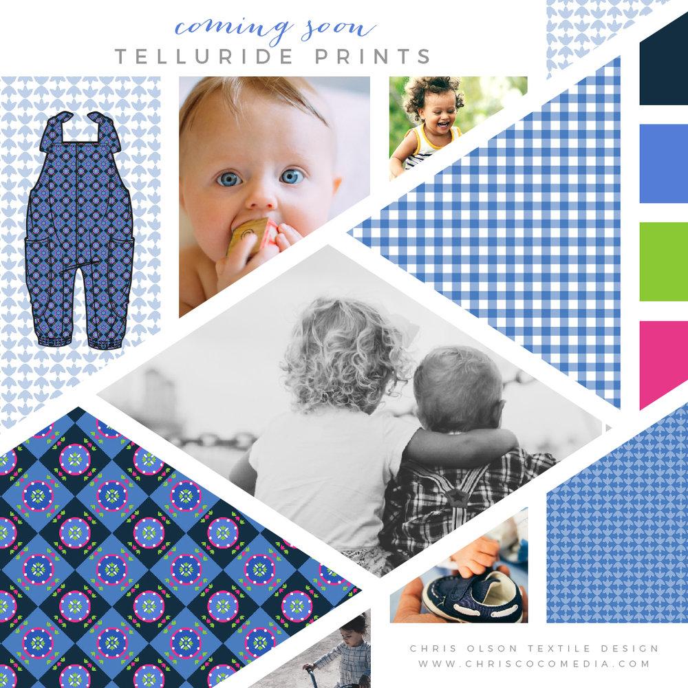 Telluride kidswear prints by Chris Olson.
