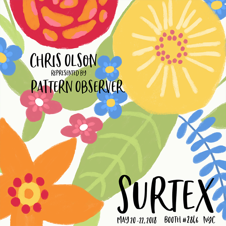 Chris Olson at Surtex
