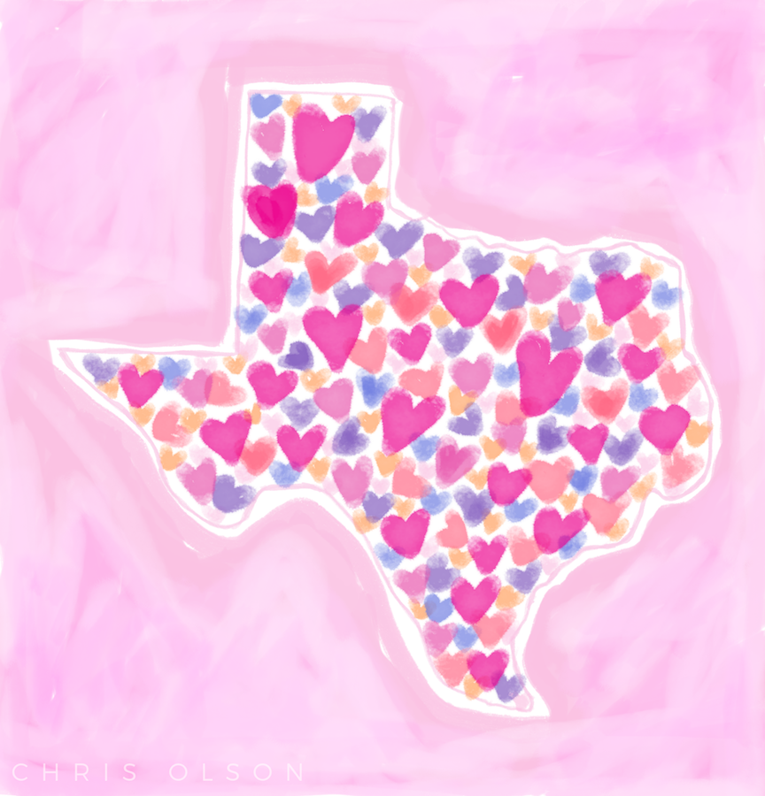 Big Hearts in Texas by Chris Olson