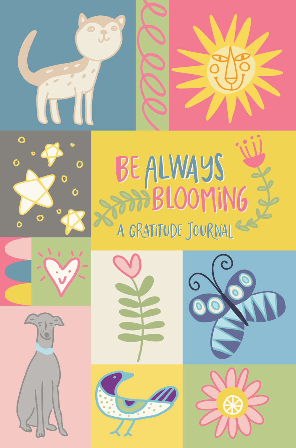 Children's Gratitude Journal Cover by Chris Olson