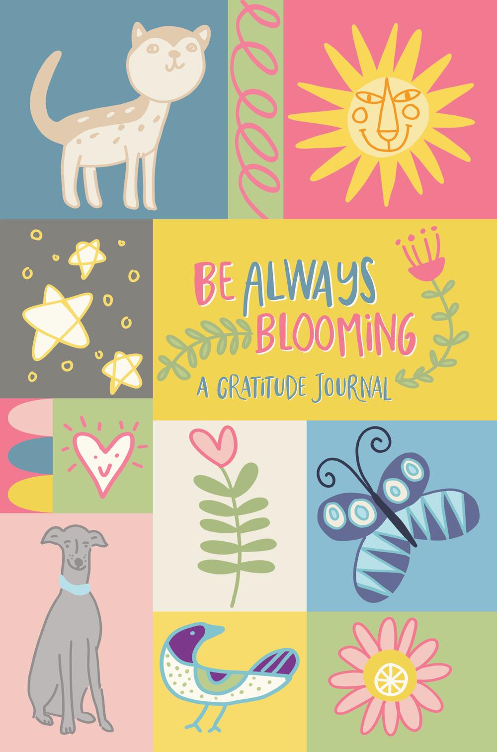 Children's Gratitude Journal Cover by Chris Olson