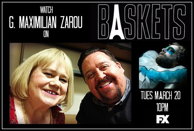 Tonight's the night! Comedy heavyweights  together at last! • • • #baskets #fx #zarou #galifianakis #louieanderson #costco