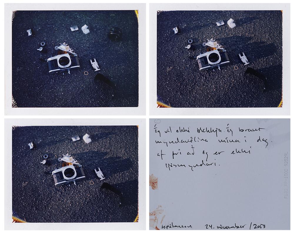 four polaroids 2# / polaroid 100 / h.pálmason / 2013