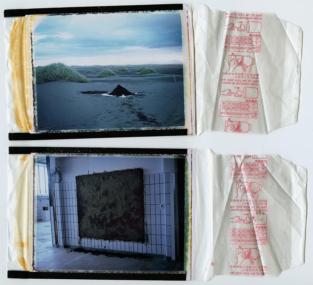 two polaroids / milk factory process / h.pálmason. 2014