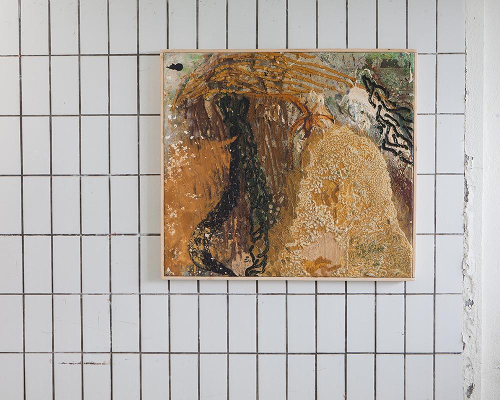 eins vetra 1# / oil painting / 100*90cm / h.pálmason 2015