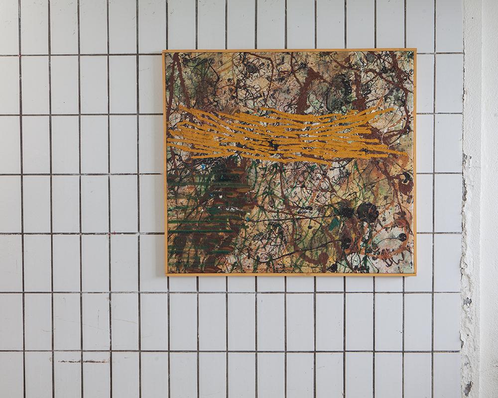 graðaloftsverk / 100*90cm / 2013-15 / h.pálmason