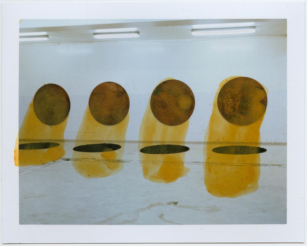 Polaroid 100 sketch / milk-factory / two winter series / summer 2015 / h.pálmason