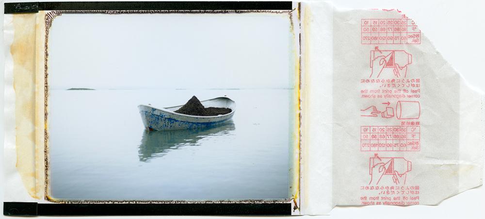 Polaroid 100 / jörð-bátur / h.pálmason 2015