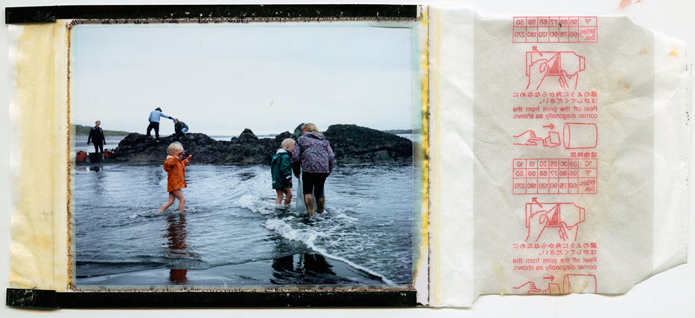 seaweed boat prep / polaroid 100 / summer 2016 /h.pálmason
