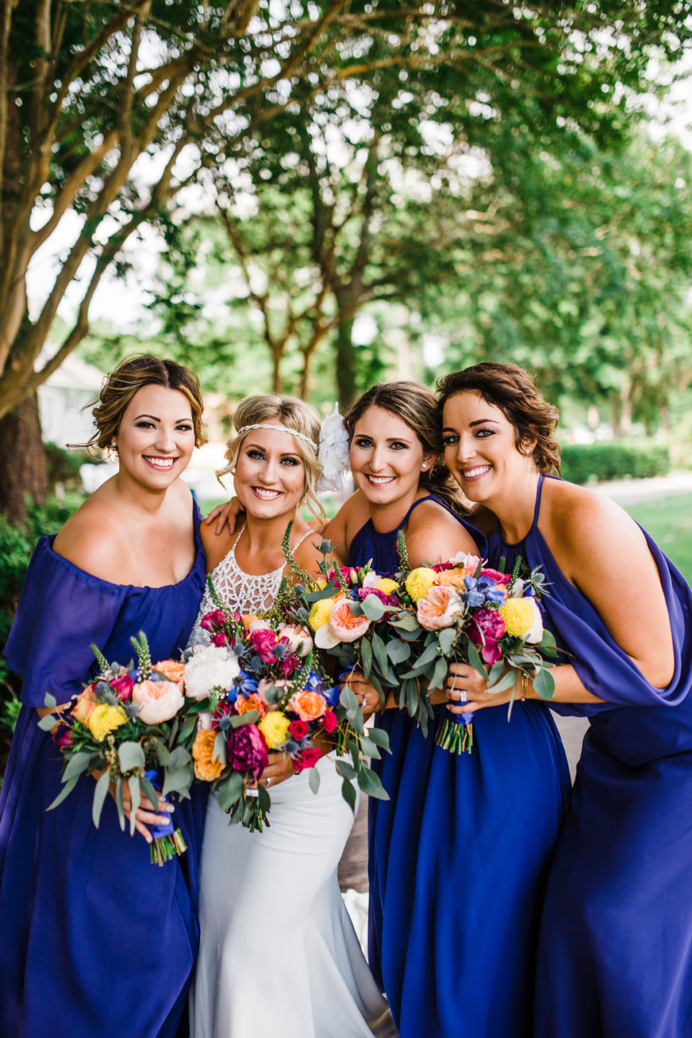LSU Wedding Inspired - Diamondhead, MS