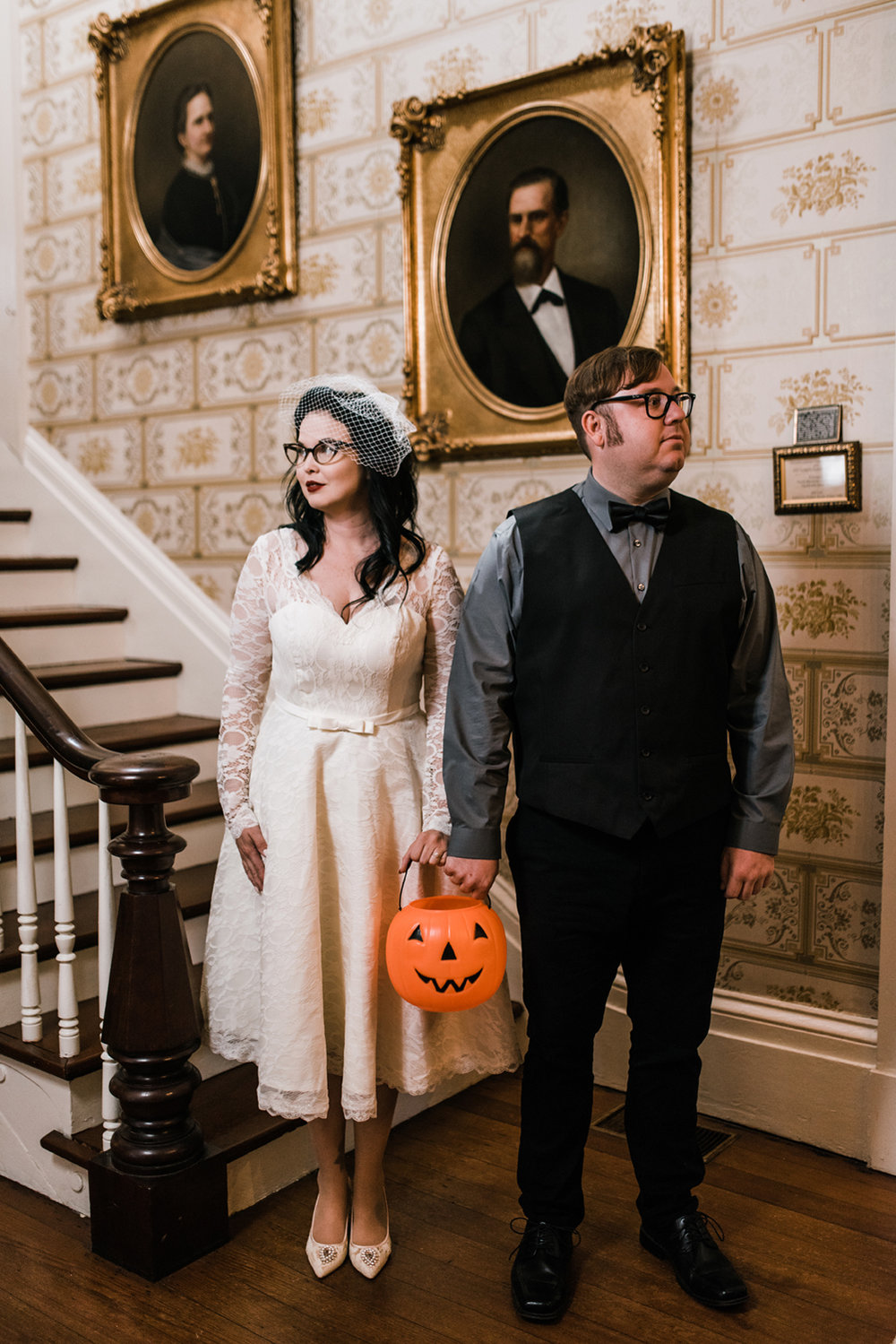 Halloween Inspired Wedding - Columbus, Ms