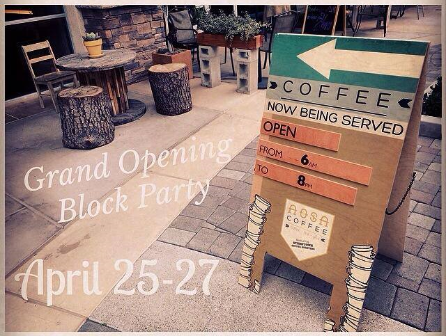 AOSA Grand Opening Block Party 4/25-26