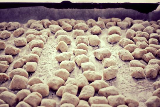 Buckwheat Gnocchi