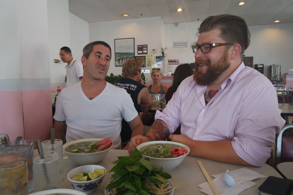 Chef Dads: Michael Solomonov & Jonathon Sawyer