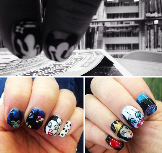 Disney Villan Nails