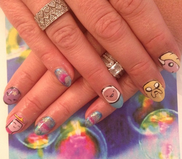 Adventure Time Nails...