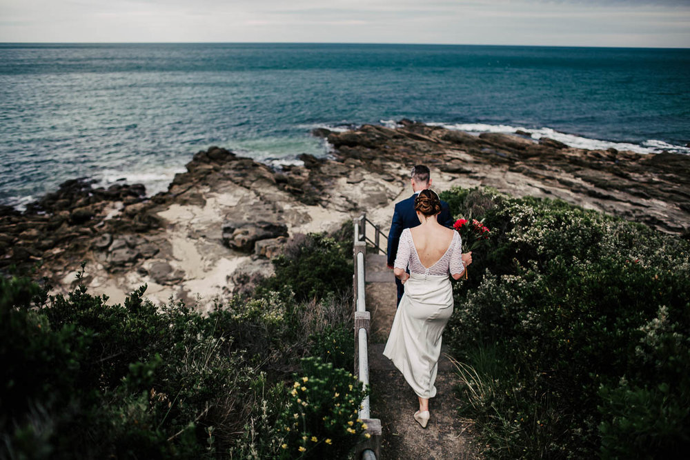 Great Ocean Road wedding photographer