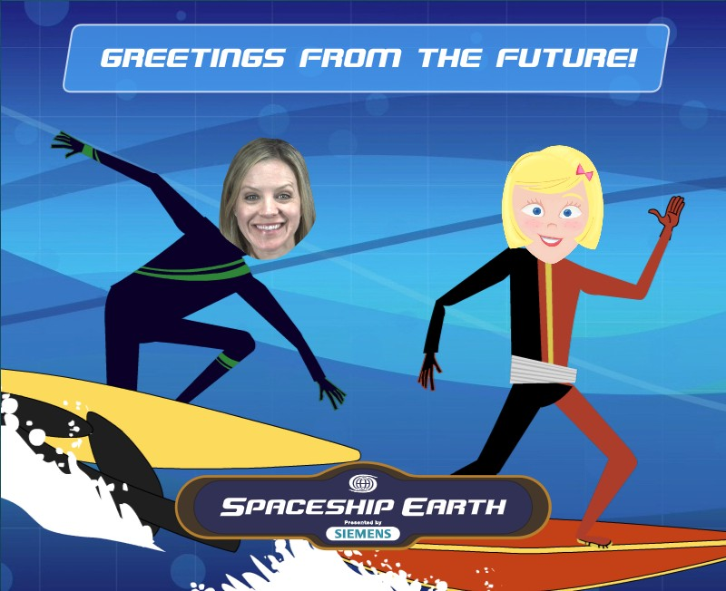 Angie Riding the Wave of the Future
