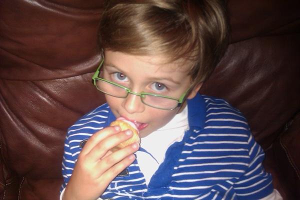 Dillon cupcake