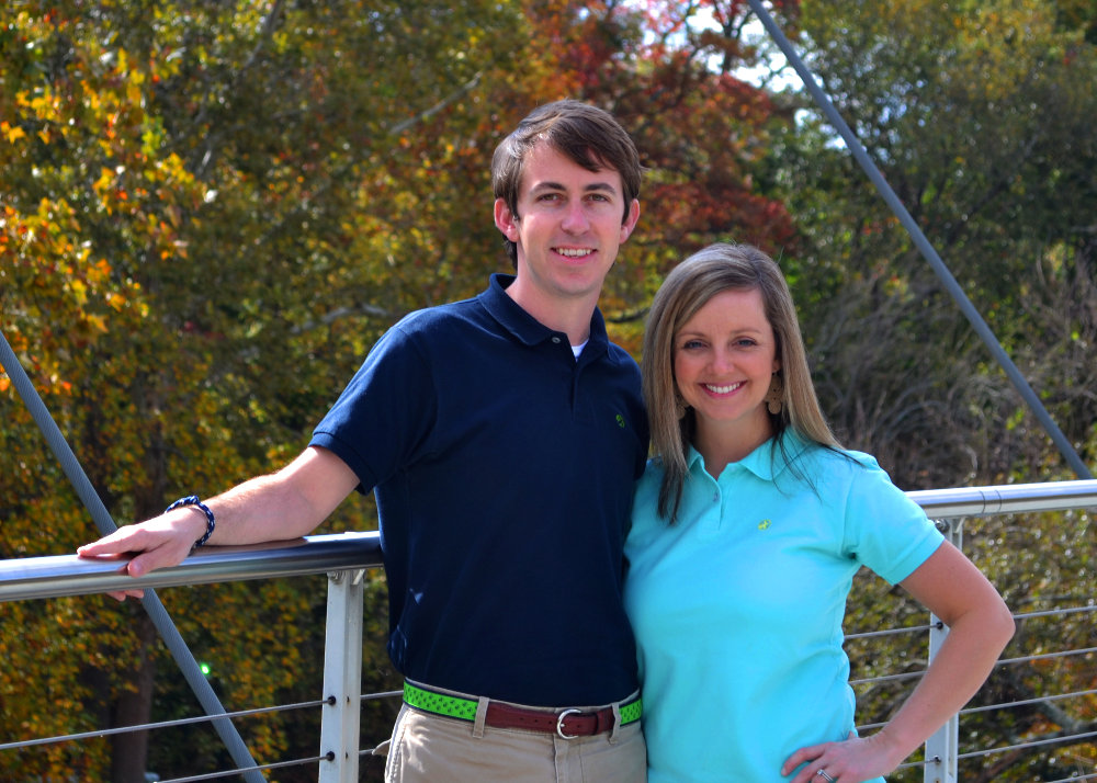 Zac and Sara Painter, co-founders of  Loggerhead Apparel