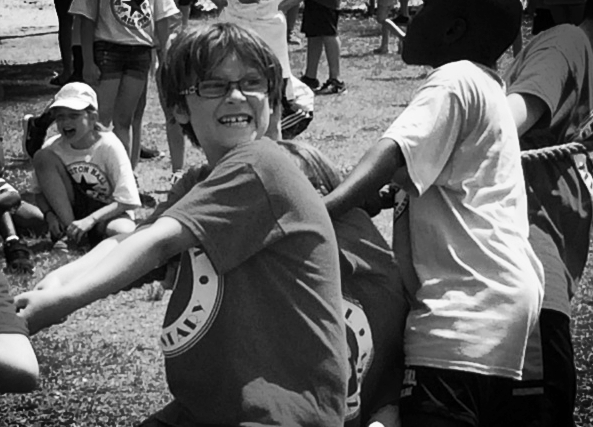 Field day tug-of-war, as awesome as I remember.