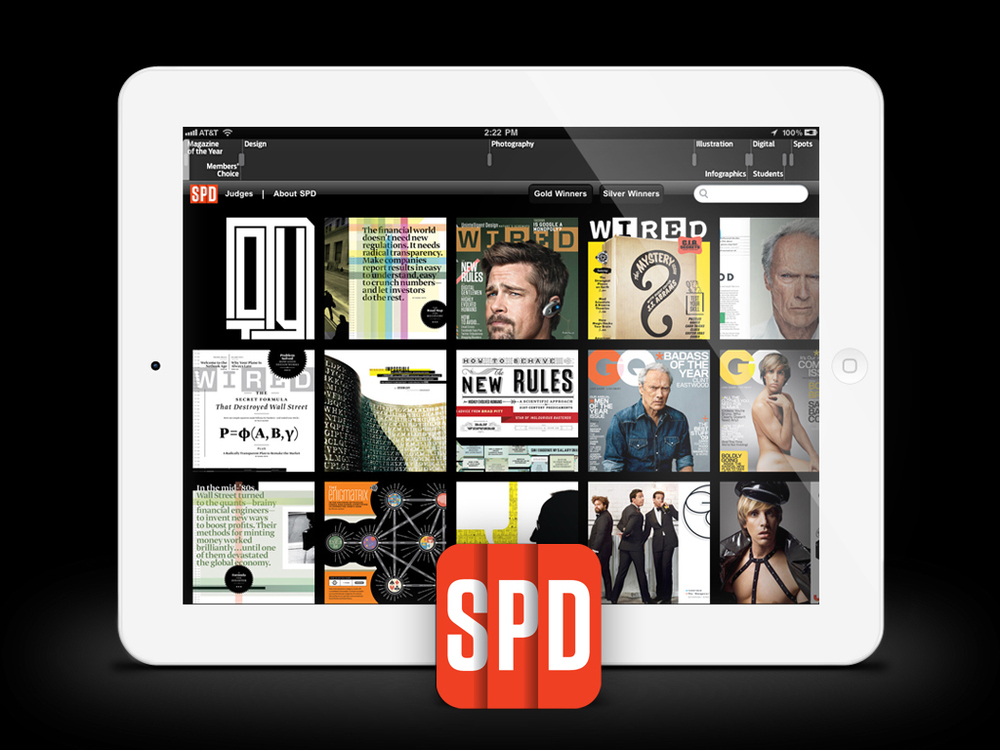 SPD 45 for iPad