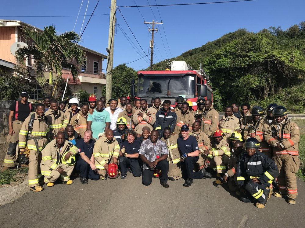 Thank you to our members around the world who have stepped forward to volunteer their time, skills and experience to help make a difference to emergency first responders who have less equipment and training but still serve their communities by risking themselves for life, property and the environment under challenging conditions.
