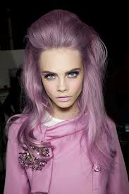 Luscious Lavender Bouffant/ NYFW Spring 2013