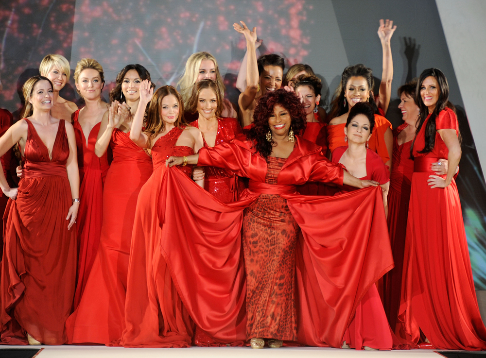 Heart Truth Red dress Show / NYFW 2013 Chaka Khan and other celebs hit the runway for heart health..