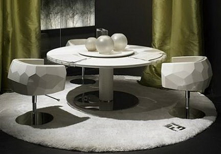 Chic Fendi dining...