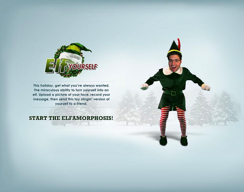 elf yourself justin gignac