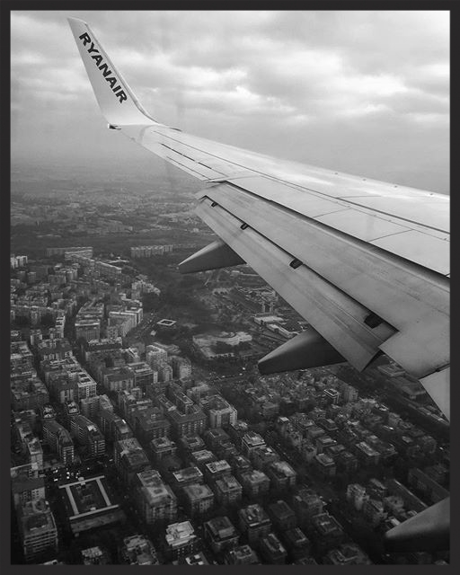 My body is landing in Rome but my mind is somewhere else. Flying is always an amazing experience tho, no matter in which mood.