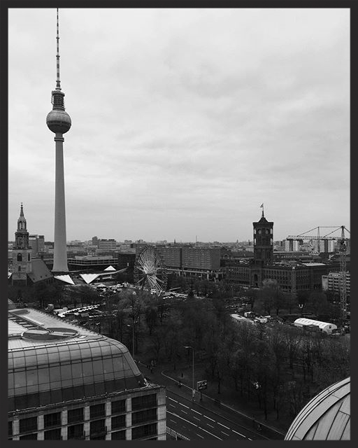 Exploring the city from the Berliner Dom. How are you Berlin ?