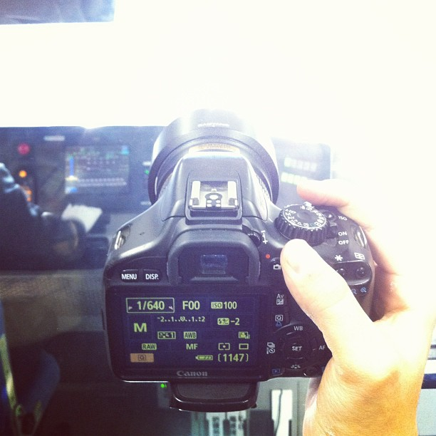 I'm shooting in the Tokyo subway, 2012