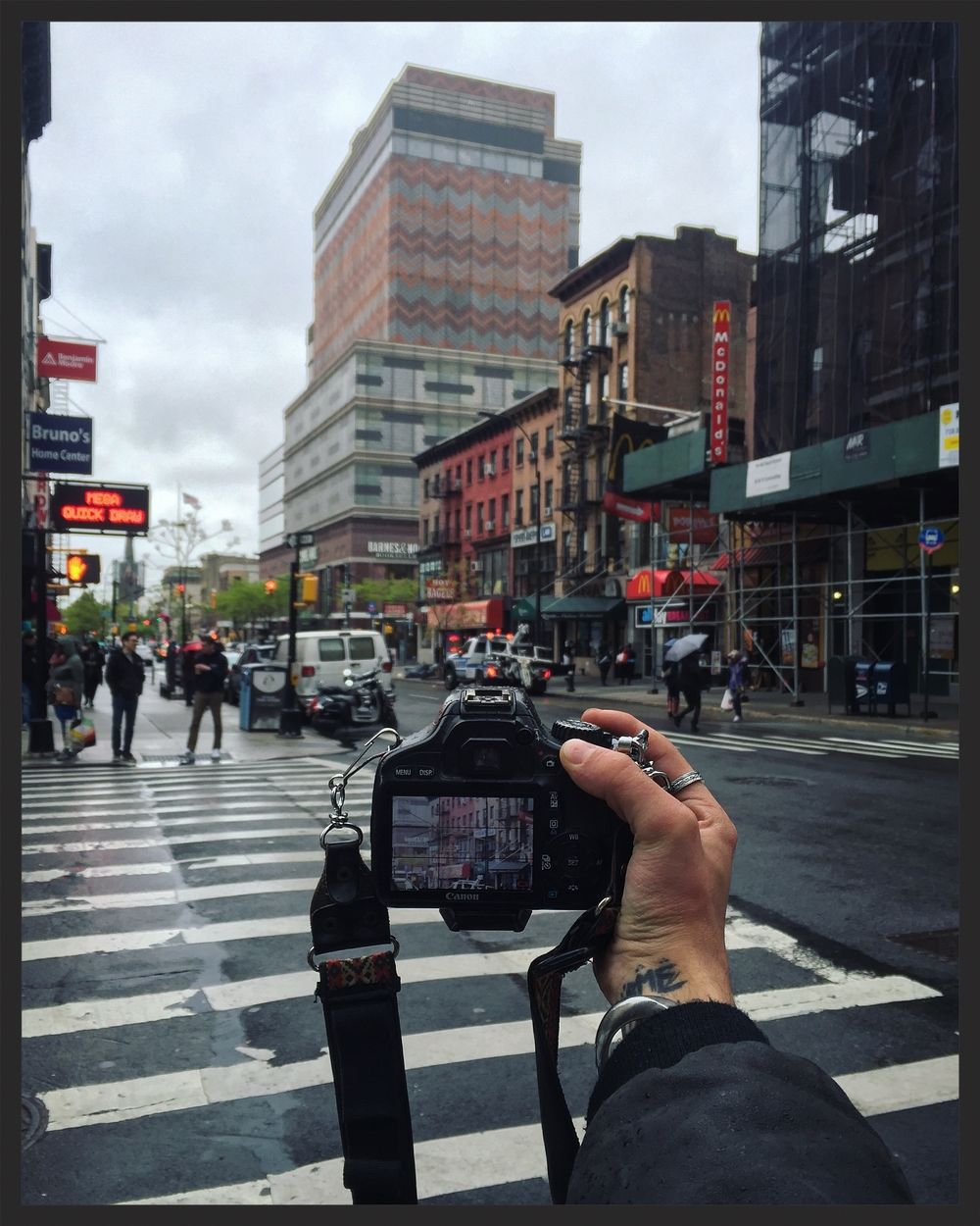 Rainy Street Photography session in Brooklyn before heading home for some editing. How are you today folks? Get ready for tomorrow, I have the feeling that it will be a very interesting day!  02|04|2016