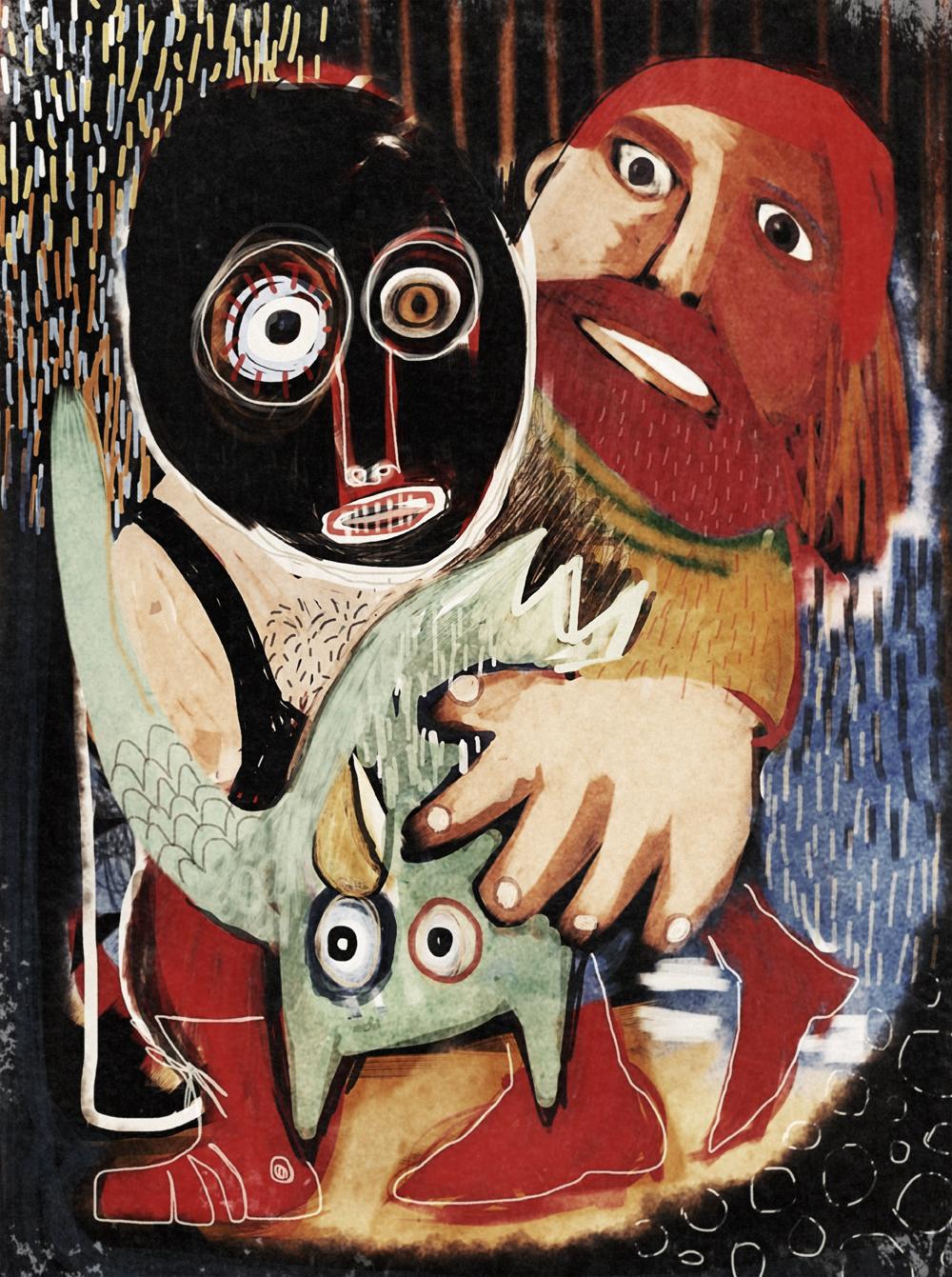 Owl Wrestling