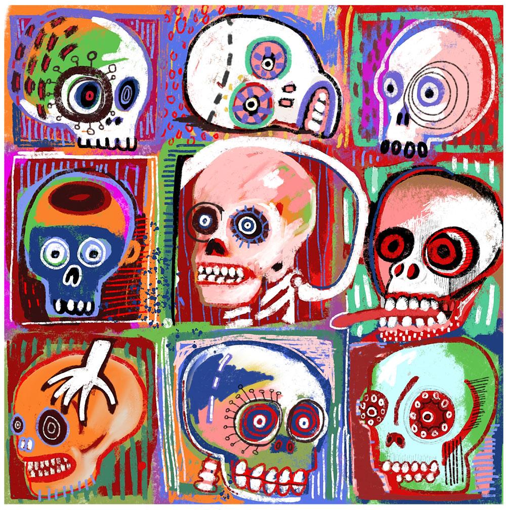 Cheeky Skulls