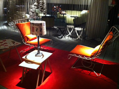 Wire Work Chairs - Milan 2011