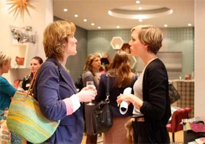 Margo Selby, Textile Designer, BIID event evening