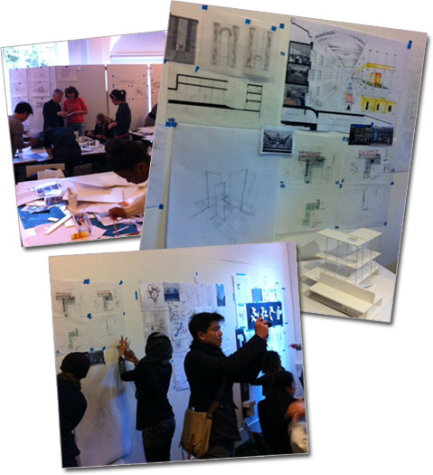Charrette Architecture and Interior Design Competition - London 2011