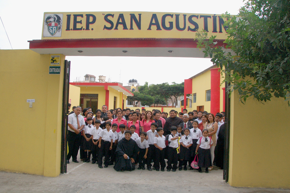 "TRUJILLO, PERU:   ""St. Augustine Private Education Institution"" opens its doors the third week of March 2013"